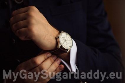 Gay Geschäftsmann